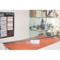 Modanatura cromata per guarnizione in vetro porta interna