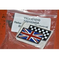 Emblema MG Mini Rover